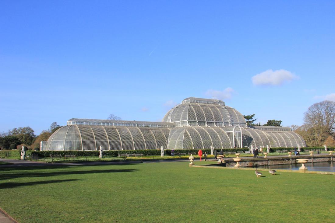 Royal Botanic Gardens, Kew, designated a WHS in 2003