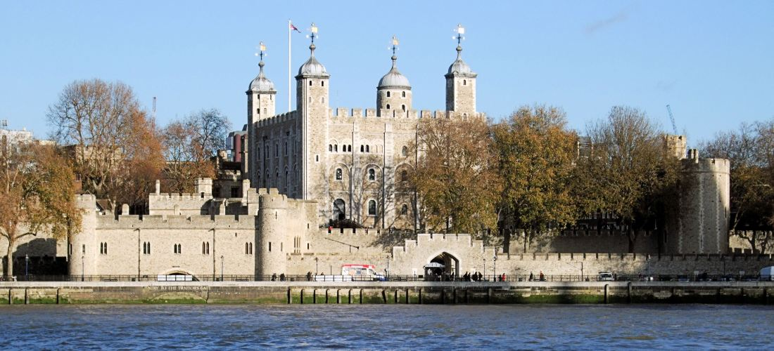 Tower of London - named as the most popular UK WHS with Uk residents in a Sykes Cottages poll of 2016