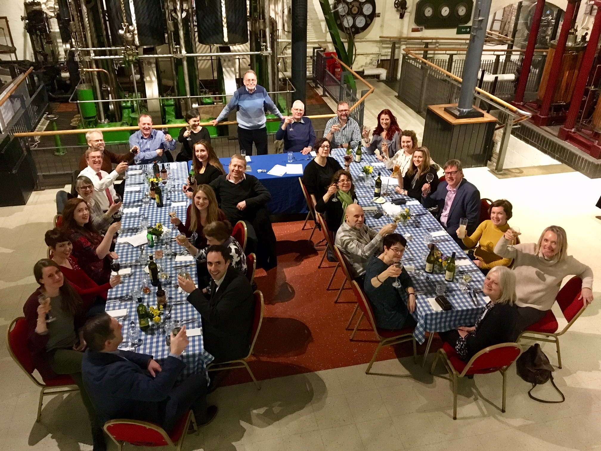Dinner at the London Museum of Water and Steam