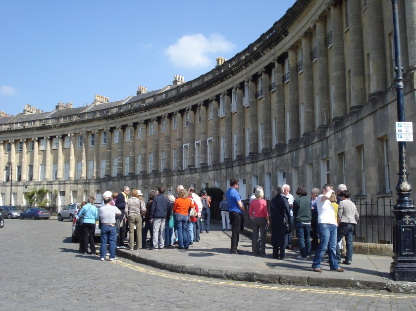 Guided tours of Royal Crescent