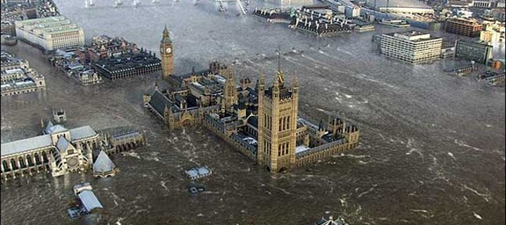 Westminster underwater