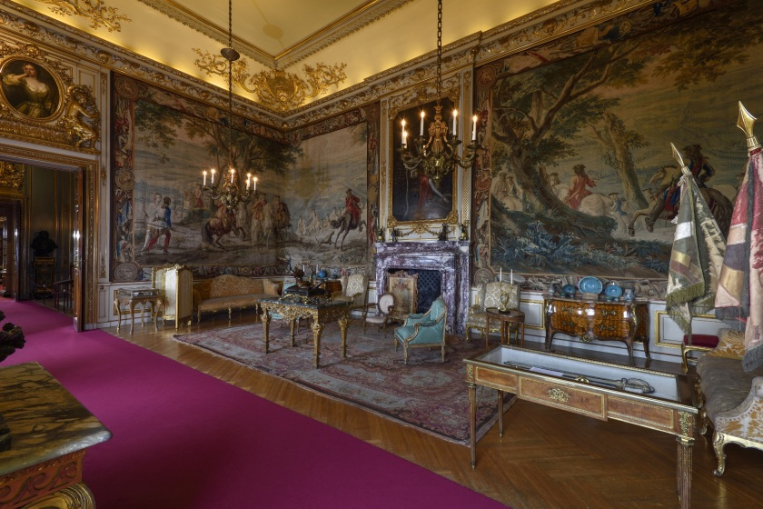Blenheim Palace's Second State Room